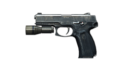 Mp443 flashlight