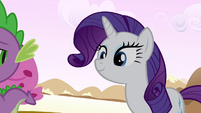 Rarity in Spike's dream S2E20