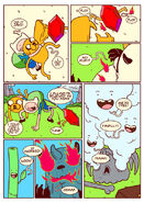 Adventure time comic page 3