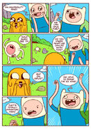 Adventure time comic page 6
