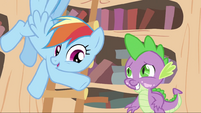 Spike and Rainbow S2E20