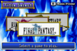 FF DoS Title Screen