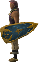 Rune kiteshield (g) equipped