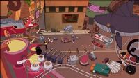 Phineas and Ferb&#39;s Inventions before Robot Riot