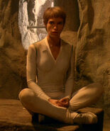 T&#39;Pol&#39;s casual uniform, white
