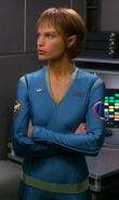 T&#39;Pol&#39;s casual uniform, blue (2161)