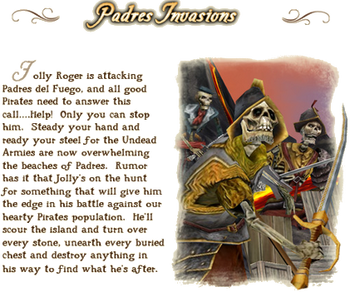 Padres Invasions lore