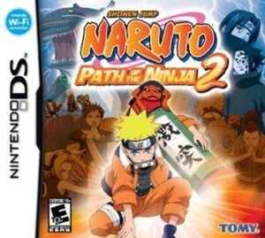 Naruto Path of the Ninja 2 Portada