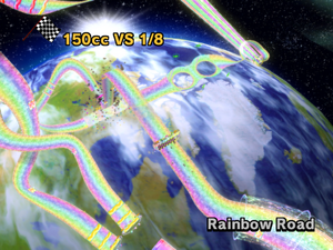Rainbow Road Overview - Mario Kart Wii
