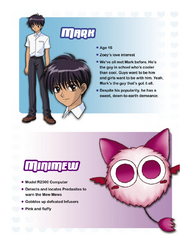 Mark and Mini-Mew's Info