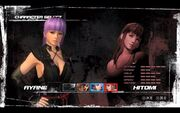 DOA5 Selection Screen Stats