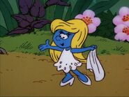 Smurfette Without A Hat On
