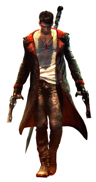 Alphabet Video Game Characters! DMC-Dante