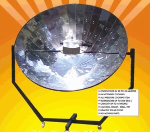 Manik Parabolic Cooker, 3-20-12