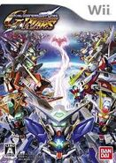 SD Gundam G Generation Wars Front Cover Wii