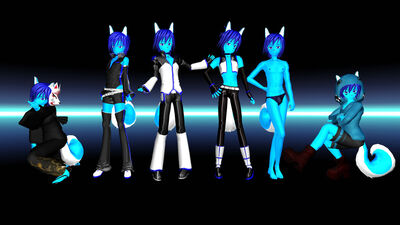 Skiploid pack mmd download by pokeluver223-d4t1orm