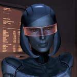 EDI ME3 Character Shot