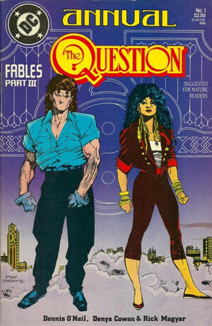 Cover for Question Annual #1