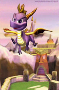 Spyro flying
