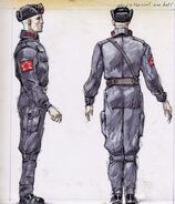 Chinese uniform CA1
