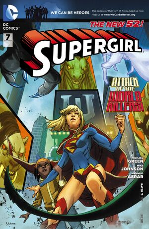 Cover for Supergirl #7