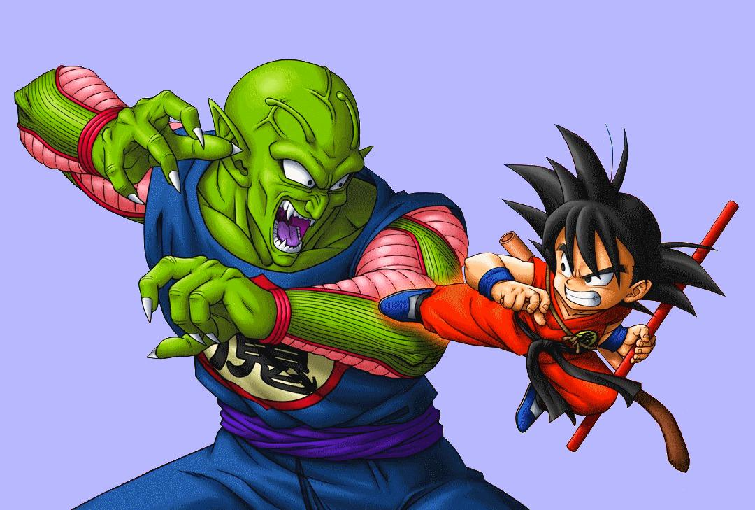 Dragon ball out side stories - piccolo daimiao Piccolo_vs._goku