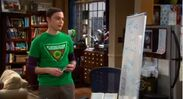 S5Ep20 - Sheldon working on Quatum Physics on his board