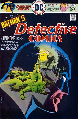Cover for Detective Comics #457