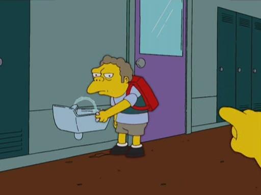 Little Moe Szyslak Simpsons Wiki