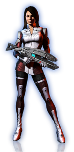 ME3 Ashley Alt Outfit 3