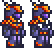 Terraria = Meteor Armor Sets Male + Female