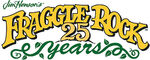 Fraggle Rock 25 Years Logo
