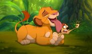 Simba and Timon in Real Life 1