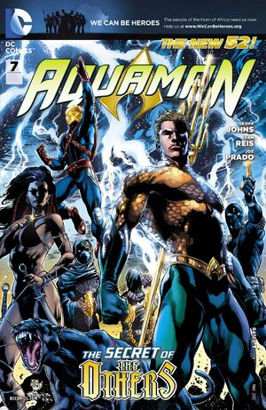 Cover for Aquaman #7