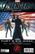 Marvel The Avengers Prelude Fury&#39;s Big Week Vol 1 2 Cover 2