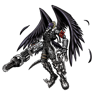 Beelzemon Blast Mode b