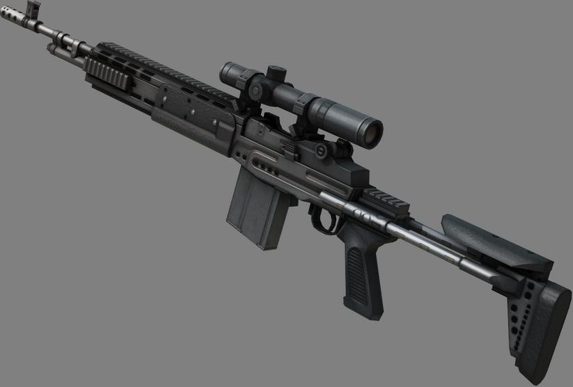 M14 EBR - The Metal Gear Wiki - Metal Gear Solid Rising ... M14_ebr