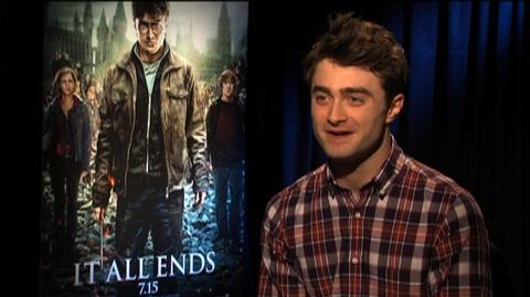 Harry Potter and the Deathly Hallows Part 2 (2011) - Interview Daniel Radcliffe On The Resurrection Stone Scene