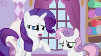 Sweetie Belle with Rarity S2E23