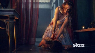 Spartacus Vengeance Death of Ilithyias Body Slave