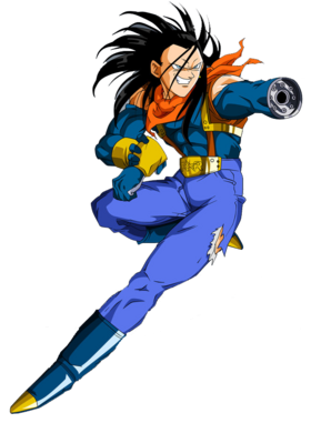 Dragon ball gt super a17