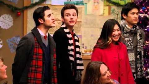 "GLEE - Full Performance of ""Do They Know It's Christmas?"" airing TUE 12 13"