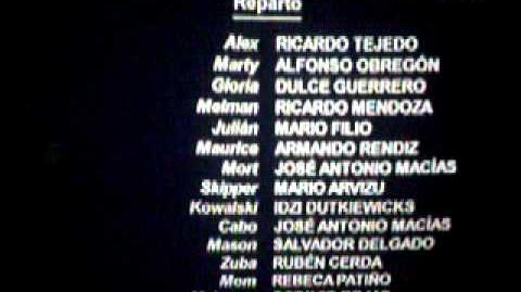 Reparto de Voces de Madagascar 2
