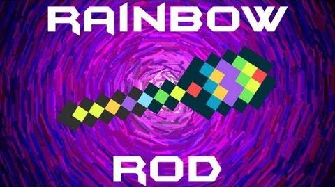 Rainbow Rod Terraria HERO