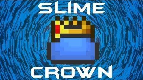 Slime Crown Terraria HERO