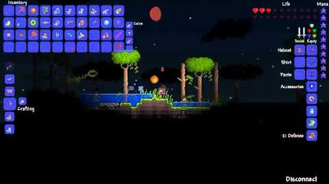 Terraria - Gathering and farming Moon Glow