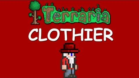 Terraria - How to get the Clothier