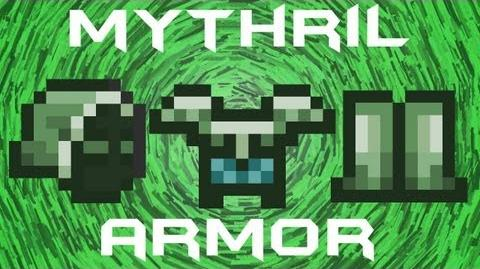 Terraria - Mythril Armor Mythril Ore