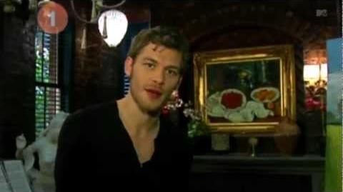 Joseph Morgan on MTV's 10 on Top