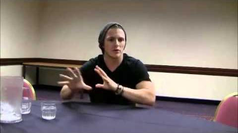 Charlie Bewley talks about 'Breaking Dawn' and playing Demetri